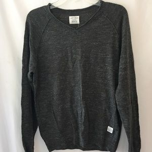 Lucky Brand Mens Sweater Medium lightweight slim